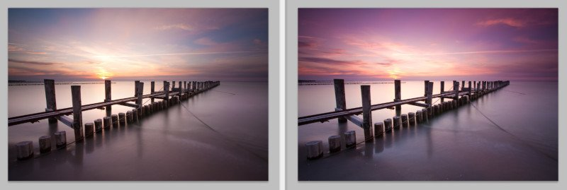Vergleich Grauverlaufsfilter Singh-Ray und Exposure Blending mit Photoshop