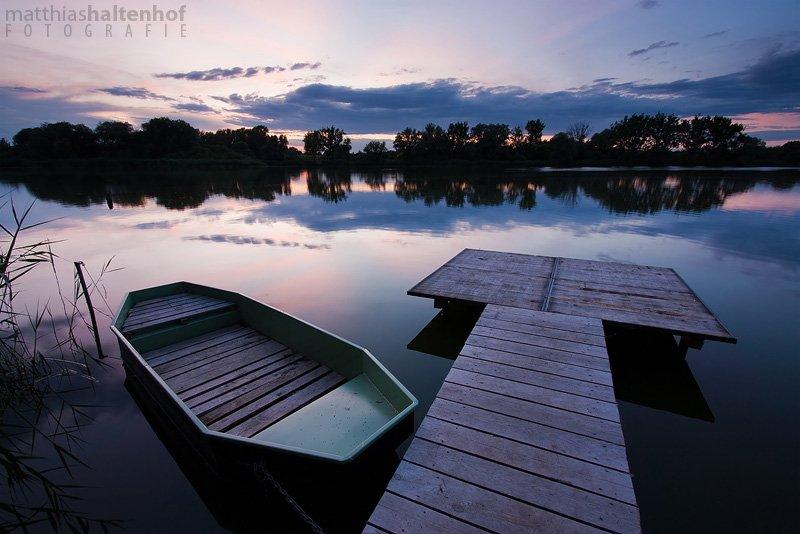 Sonnenuntergang bei Elsnigk
