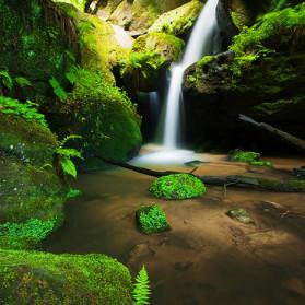 Kleiner Amselfall, Nationalpark Sächsische Schweiz