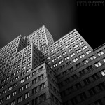 Architektur Schwarz-Weiß
