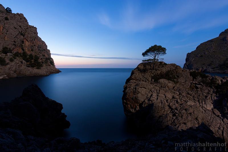 Nachts bei Sa Calobra und dem Torrent de Pareis