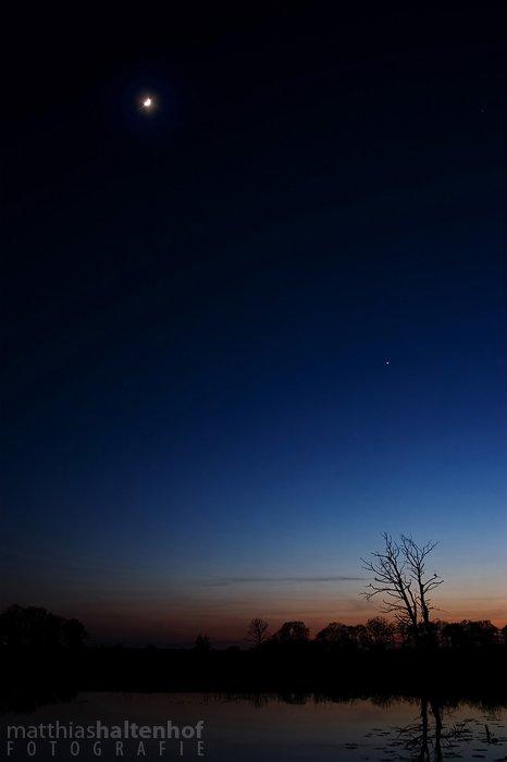 Blaue Stunde bei Dessau