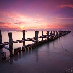 Sonnenuntergang bei Zingst