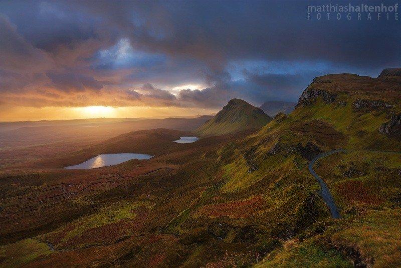Quirang - Sonnenaufgang auf der Isle of Skye