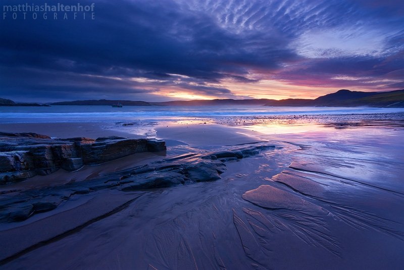 Talmine Beach blaue Stunde