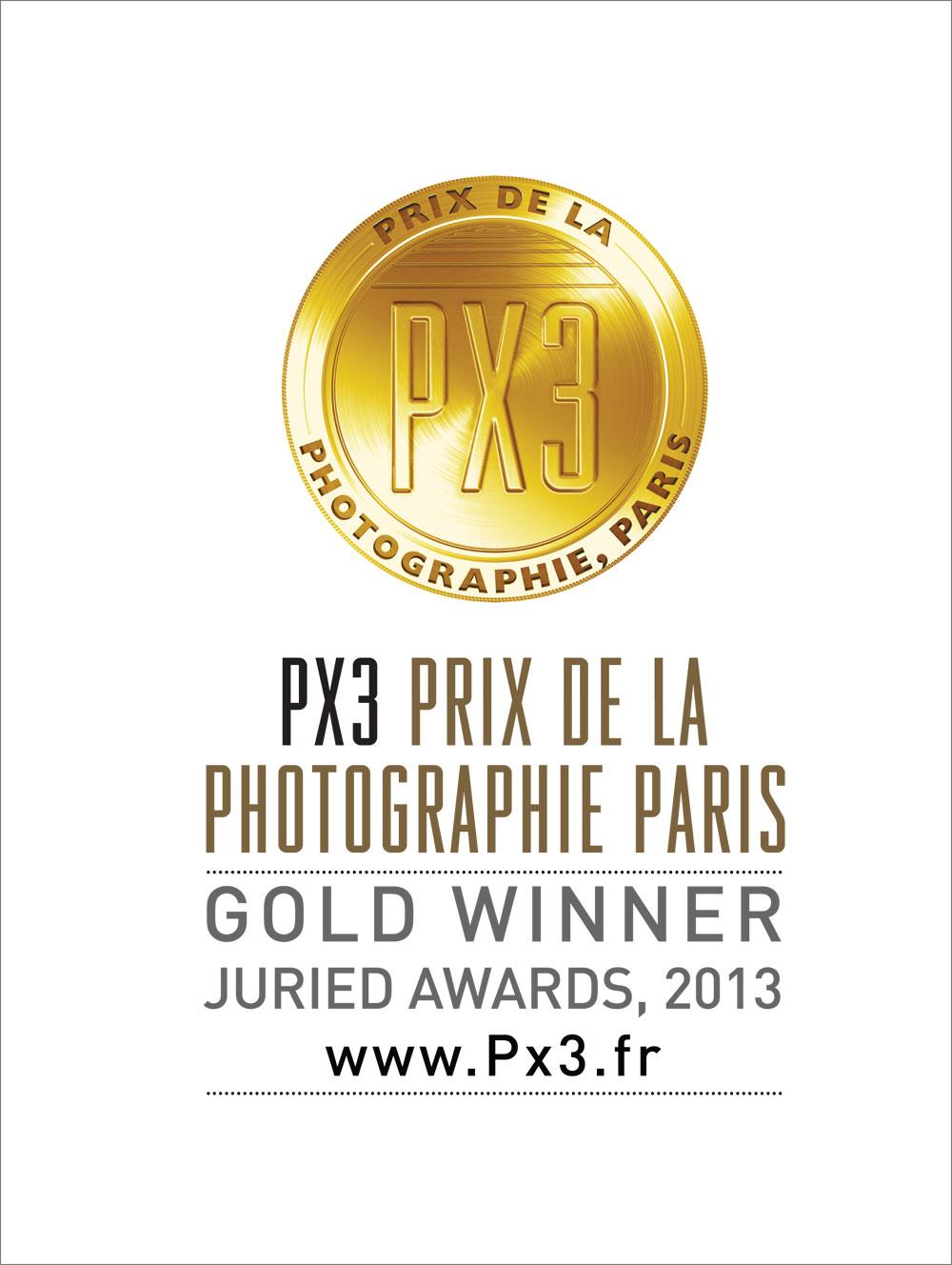 """PX3 Auszeichnung """"Gold"""""""