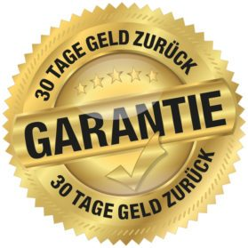 Garantie - 30 Tage Geld zurück