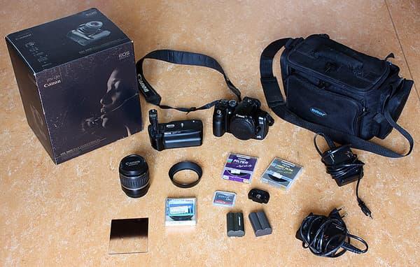 Meine erste Spiegelreflexkamera: Die Canon EOS 300D