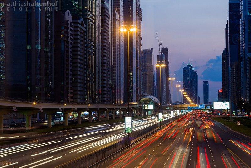 Sheikh Zayed Road - Fotografie Tipps