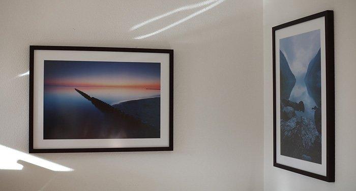 Nicht immer ist die Lichtsituation in den Ausstellungsräumen optimal