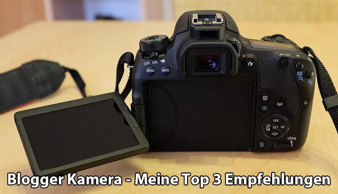 Blogger Kamera
