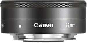 Canon EF-M 22mm F2 STM Pancake