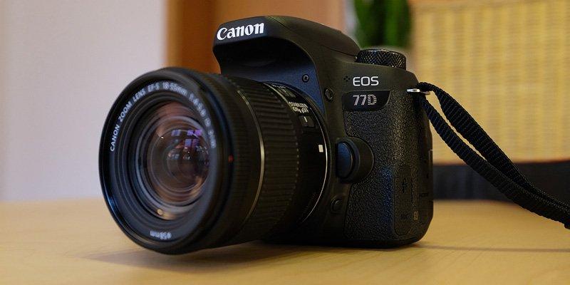 Canon EOS 77D Test