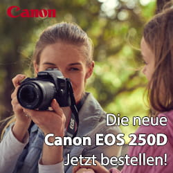 Canon EOS 250D - Jetzt bestellen!