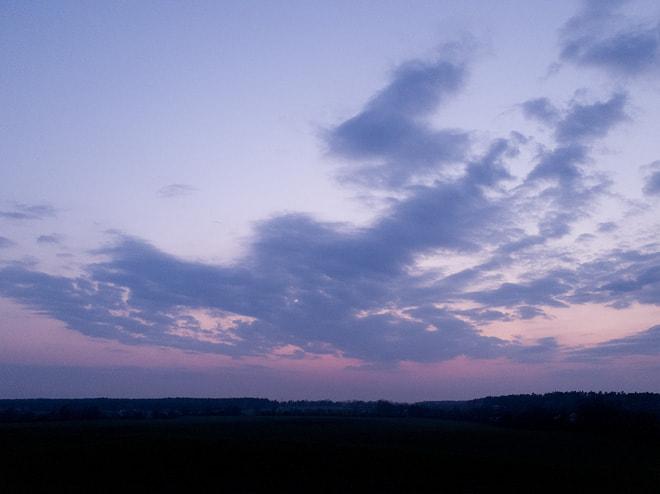 Dynamikumfang: Belichtung für den Himmel, Vordergrund zu dunkel