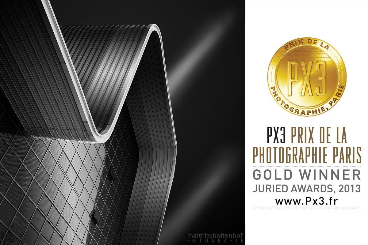 Experimentelle Fabrik PX3 Gold Award
