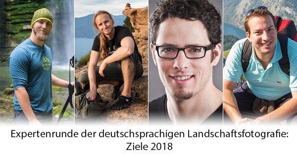 Expertenrunde: Ziele 2018
