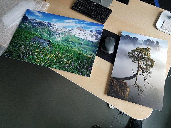 Fotodrucke für Kunden