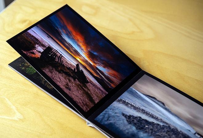 Fotobuch meiner Landschaftsaufnahmen in 10 x 15 cm