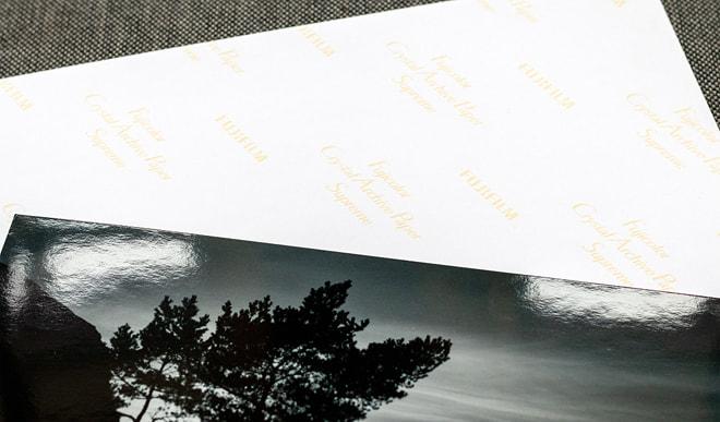 Ausbelichtung auf Fuji Crystal Papier