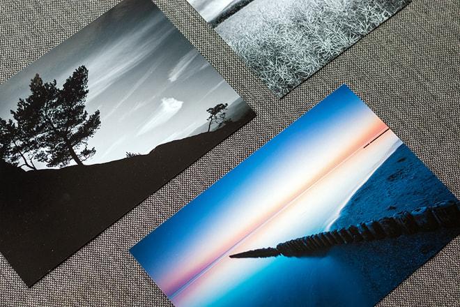 Abzüge auf Fuji Crystal und Kodak Pro Endura