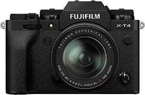 Fujifilm X-T4 mit XF 18-55mm F2.8-4 R LM OIS Objektiv