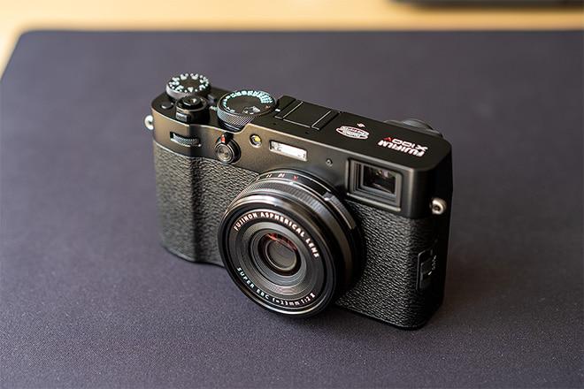 Fujifilm X100V Test: Vorderseite