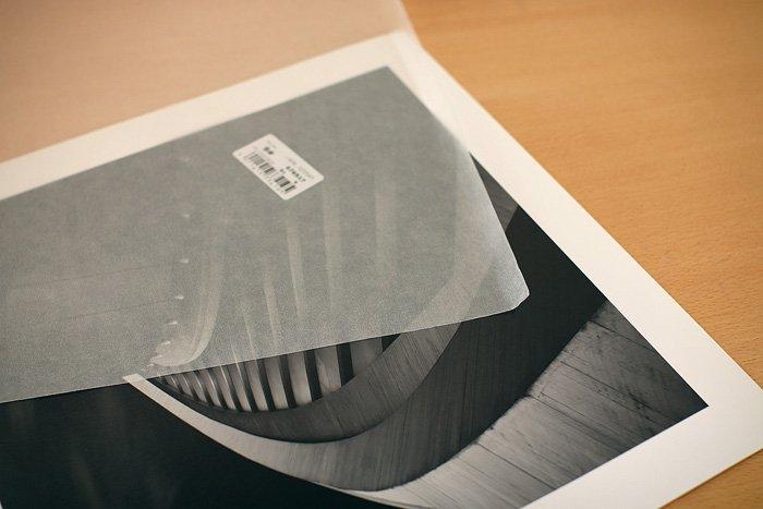 Hahnemühle Print mit Schutzblatt