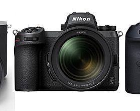 Highend Systemkamera Vergleich - Sony Alpha 7R IV vs. Canon EOS R5 vs. Nikon Z7 II