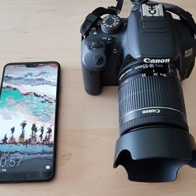 Huawei P20 Pro VS DSLR