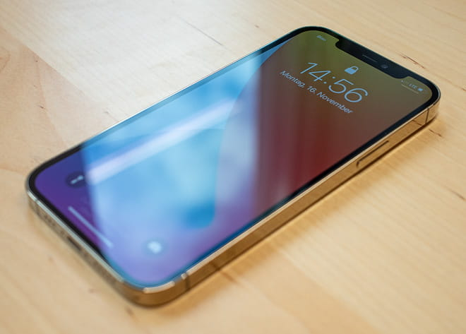 iPhone 12 Pro in gold