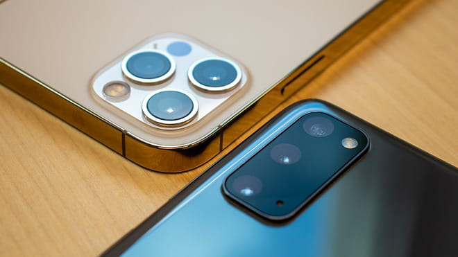 iPhone 12 Pro vs. Samsung Galaxy S20 Kamera Vergleich