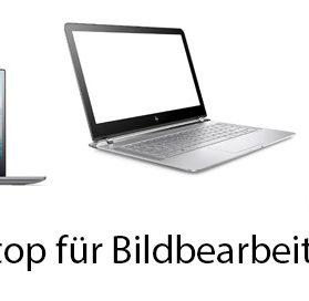 Laptop für Bildbearbeitung