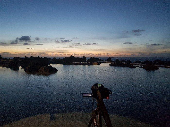 Die Meerespools von Porto Moniz zur blauen Stunde