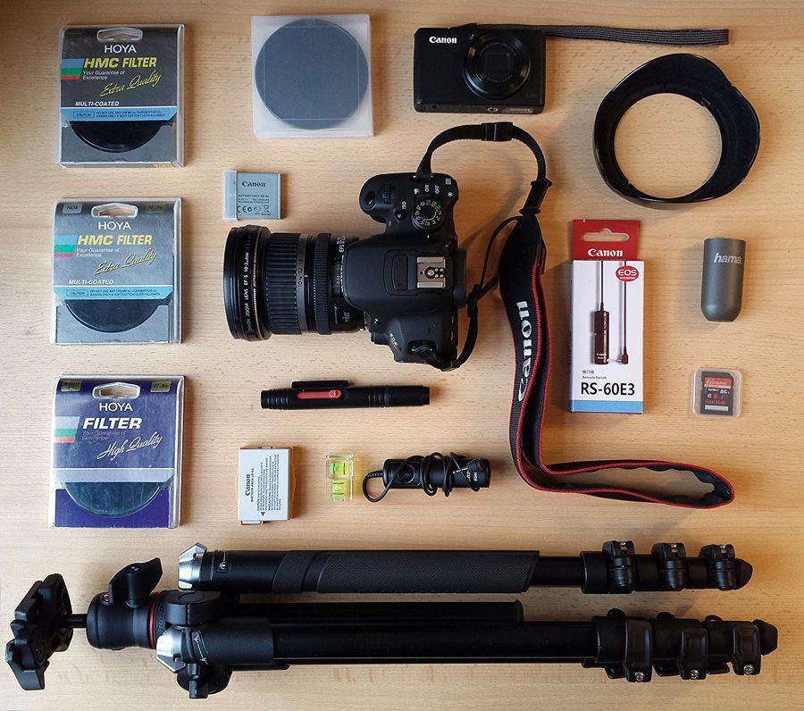 Meine Fotoausrüstung für die Reise
