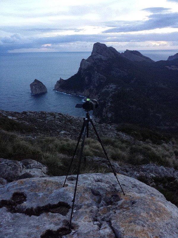 Morgens am Cap Formentor auf Mallorca