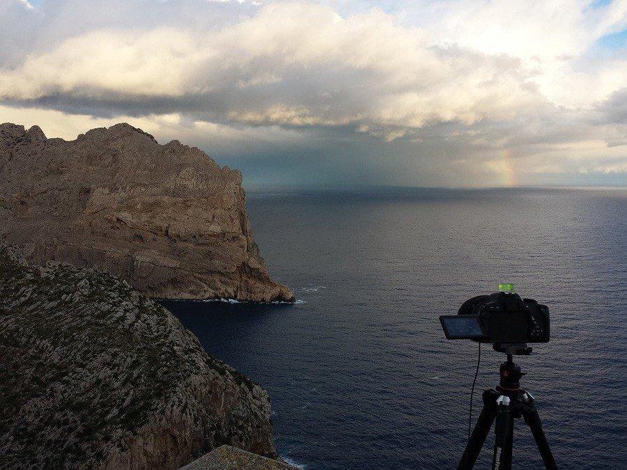 Regenbogen am Cap Formentor