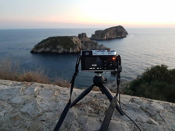 Langzeitbelichtung mit der X100F im Westen Mallorcas