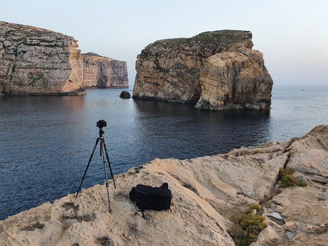 Malta - Behind the Scenes - Fungus Rock