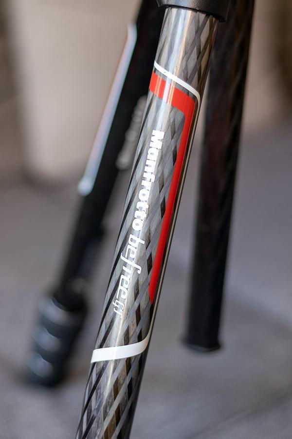 Beine des Manfrotto Befree GT Carbon