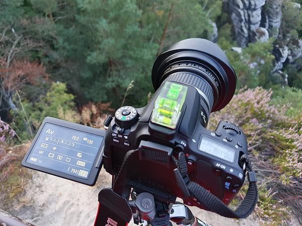 Kameraeinstellungen für die Aufnahme