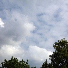 Himmel mit Polfilter
