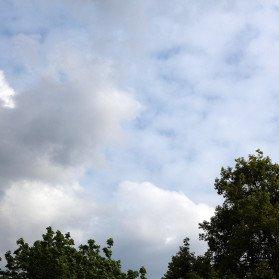 Himmel ohne Polfilter