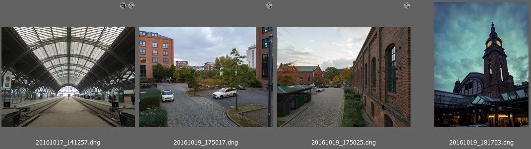 Samsung Galaxy S7 Edge RAW Dateien