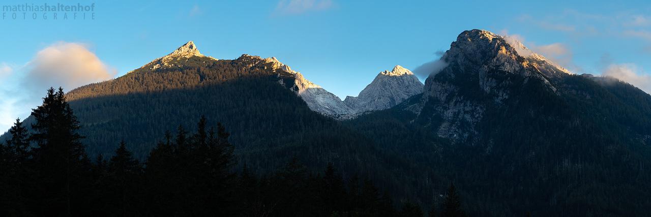 Süddeutschland Tour 10 - Schärtenspitze, Hochkalter und Rotpalfen