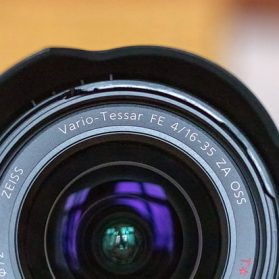 Sony FE 16-35 mm F4 ZA OSS Test