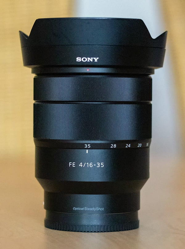Das FE 4/16-35 mm bei 35 mm