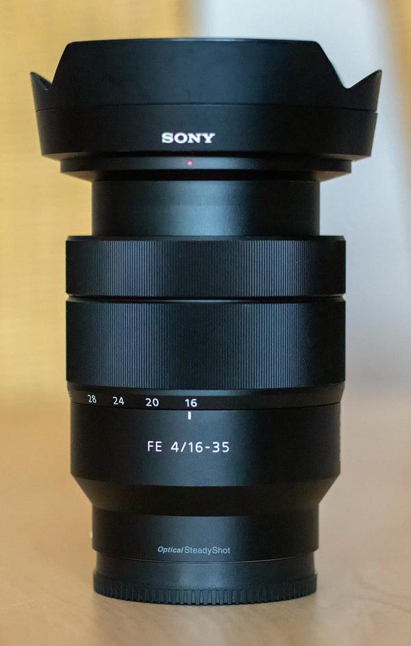 Das FE 4/16-35 mm bei 16 mm