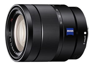 Sony E 16-70 mm F4 ZA OSS