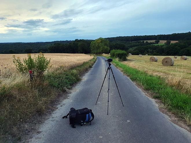 Nach Sonnenuntergang bei Enkirch